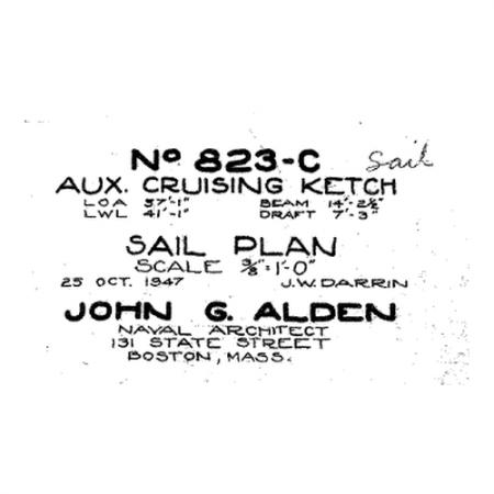 823-c sail plan
