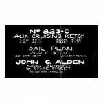 823-c sail plan blueprint