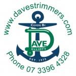 Davids Custom Trimmers Circle Logo web