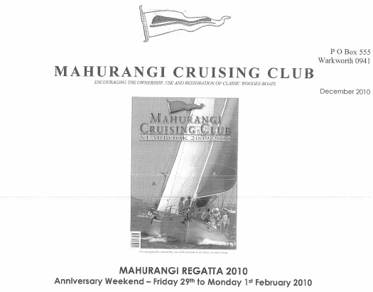 mahurangi regatta nor
